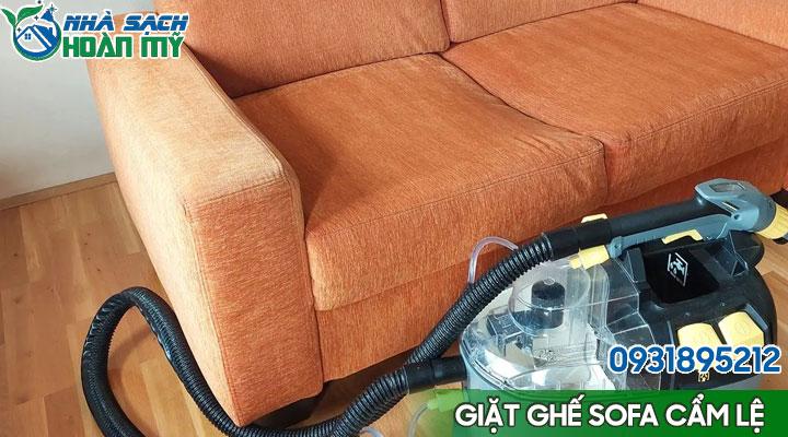 Giặt ghế sofa tại Cẩm Lệ - Đà Nẵng