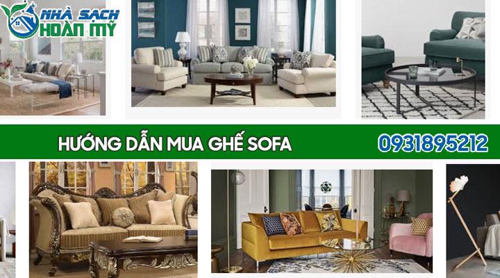 Hướng dẫn chọn mua ghế sofa