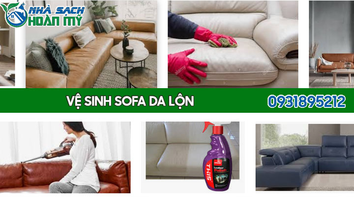 Cách vệ sinh sofa da lộn - bóng mịn, bền lâu