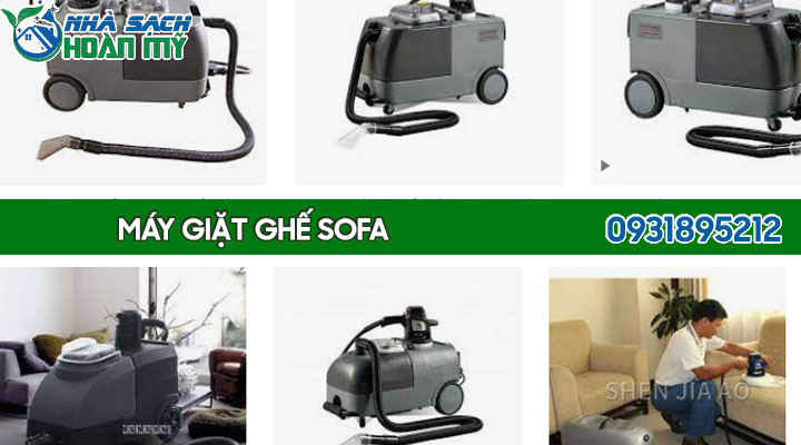 Các loại máy giặt ghế sofa chuyên nghiệp
