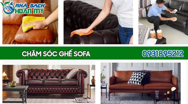 Cách bảo quản ghế sofa