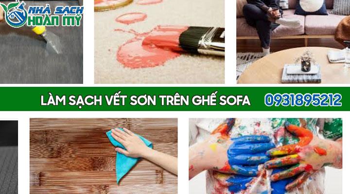 Cách tẩy sơn trên ghế sofa