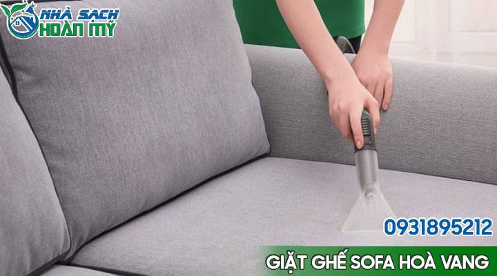 Dịch vụ giặt ghế sofa tại huyện Hoà Vang - Đà Nẵng