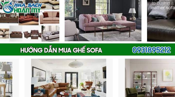 Kinh nghiệm mua ghế sofa phòng khách