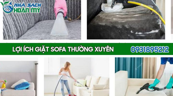 Lợi ích của giặt ghế sofa